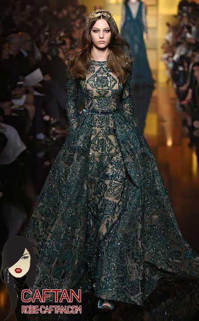 Styliste caftan marocain pour les tendances orientales