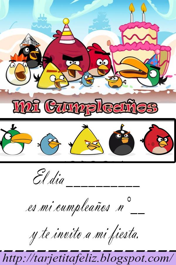 Tarjetas De Cumpleaños Para Imprimir 2013