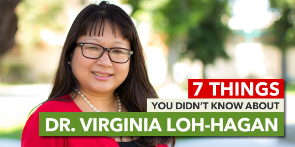 Graphic for 7 Things You Didn't Know About Dr. Virginia Loh-Hagan