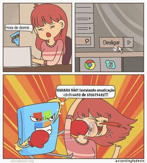 Atualizando o Windows