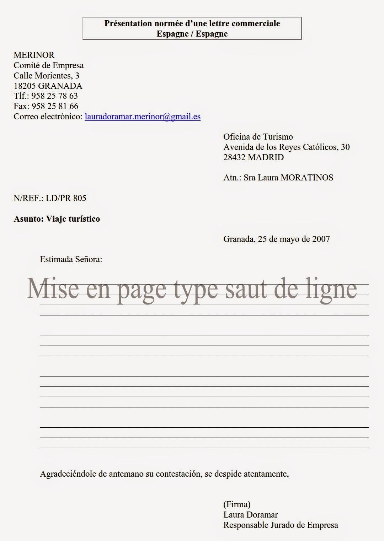 """BTS Tertiaire - espagnol aide pour les épreuves écrites et orales. Cliquez sur """"libellés ..."""