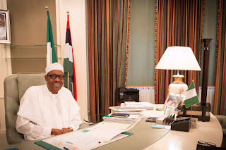 Buhari In Office