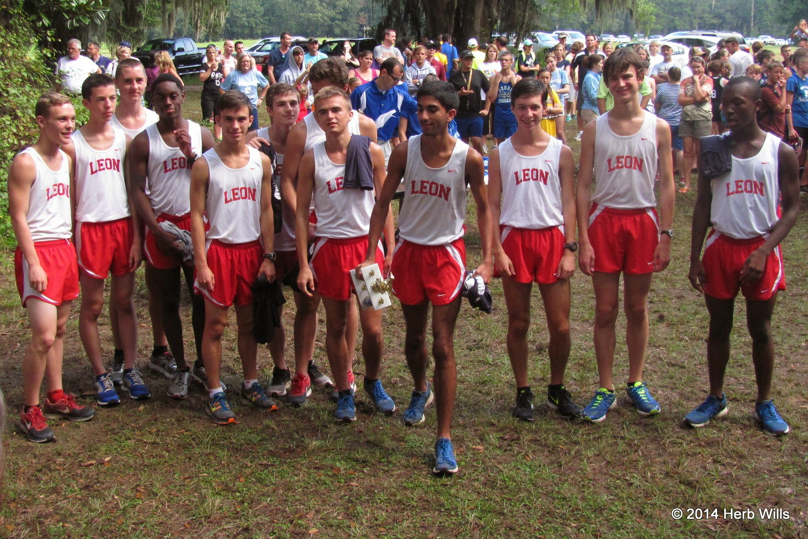 Leon HS boy's cross-country team