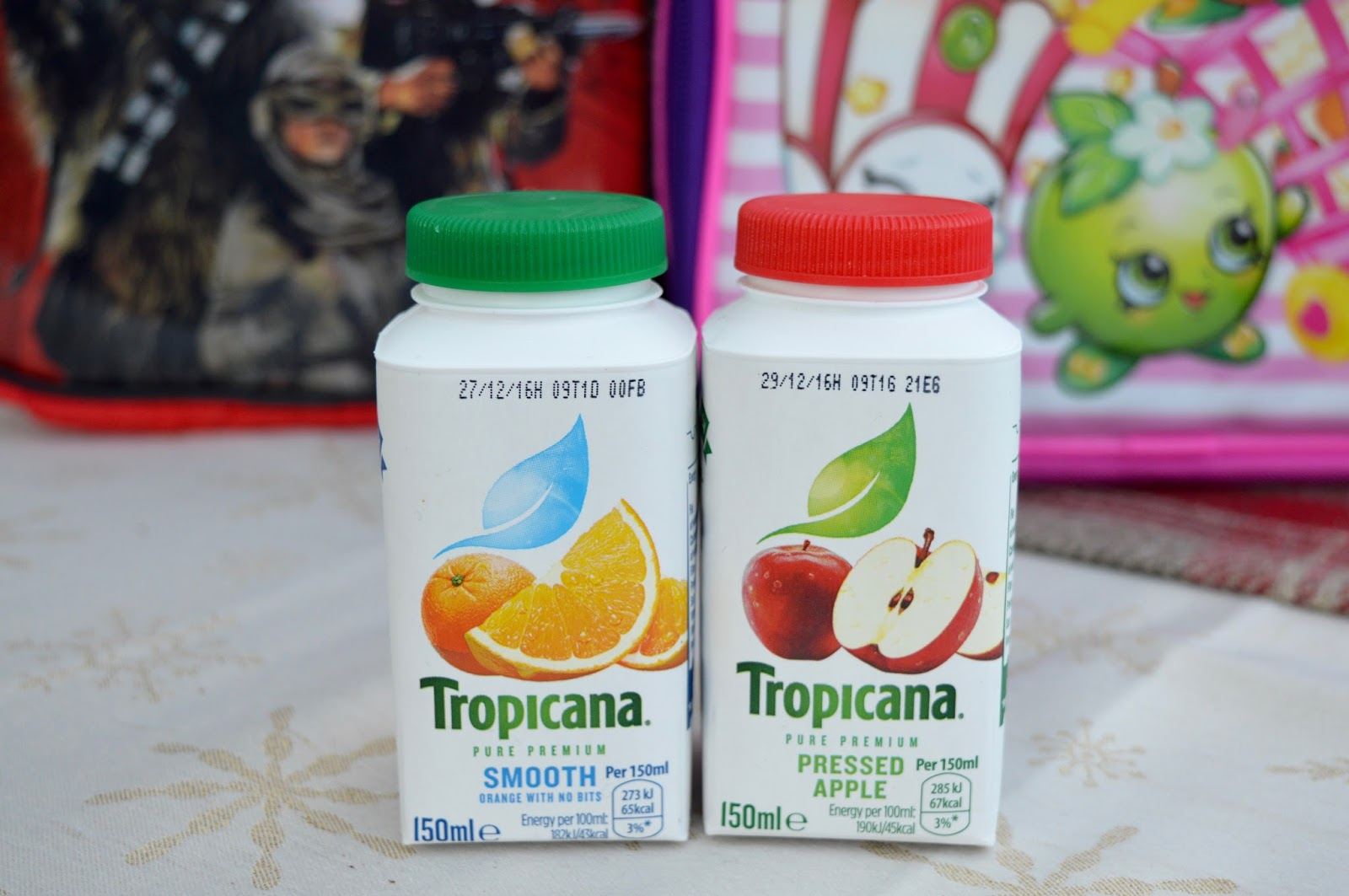 5 ways to add fruit & veg to your child's lunchbox and help them reach 5-a-day - Tropicana little bottles