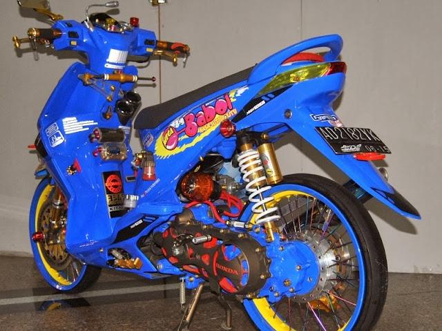 contoh Variasi Motor Matic Honda Beat