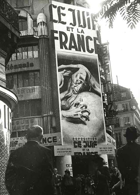 A propaganda exhibit in Paris 26 September 1941 worldwartwo.filminspector.com