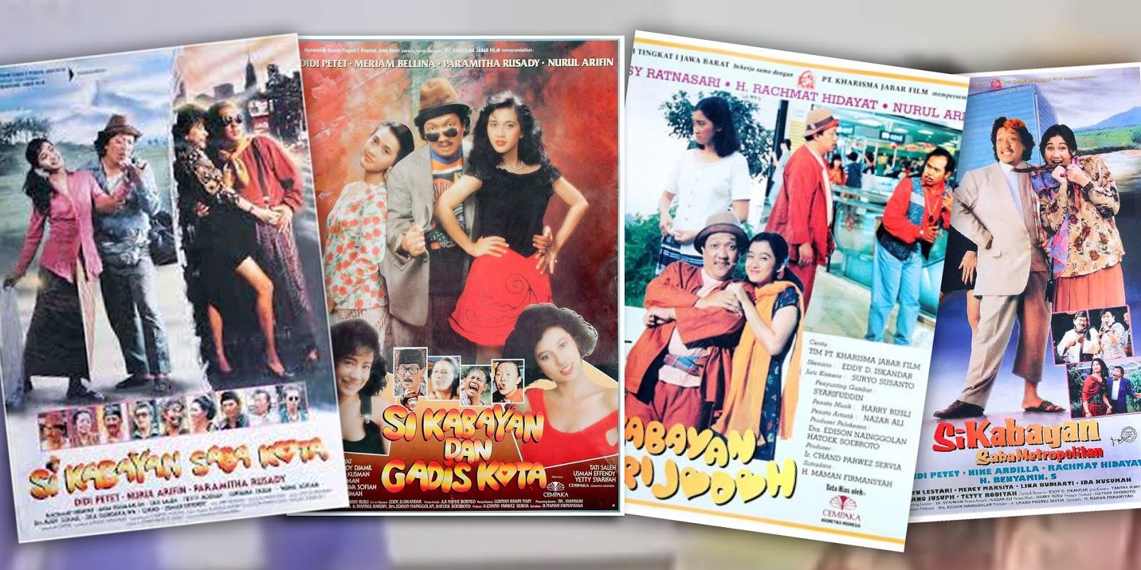 Latar tempat di Bandung dalam film si Kabayan Didi Petet