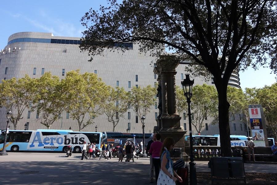 エル・コルテ・イングレス(El Corte Ingles・Plaza de Catalunya)