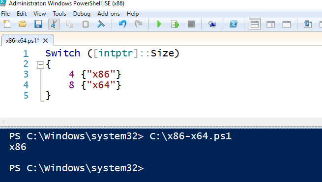 How to let Jenkins to Run Powershell in x64 mode » Kostecký