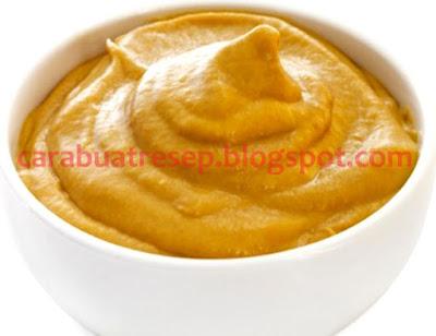 Foto Resep Mustard Sauce Homemade Rumahan Sederhana Spesial Buatan Sendiri Asli Enak
