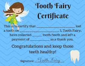 picture about Printable Tooth Fairy Certificate called Stories of Mommyhood: Enamel Fairy Absolutely free Printables