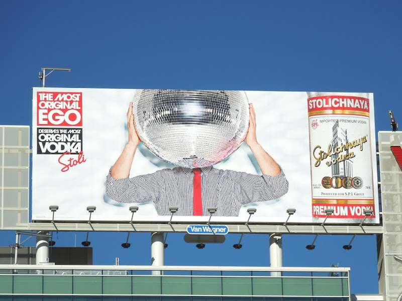 Most Original Ego Stoli Vodka billboard