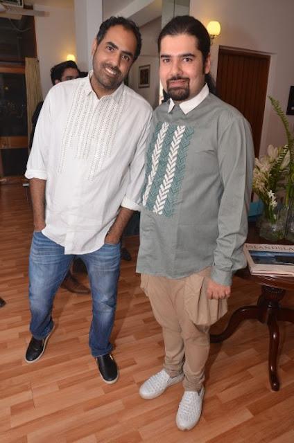 (L-R) Shaan Thadani, Anand Bhushan