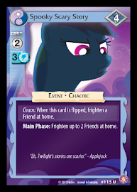 My Little Pony Spooky Scary Story Absolute Discord CCG Card