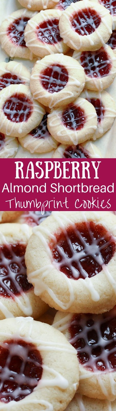 Raspberry Almond Shortbread Thumbprints Recipe
