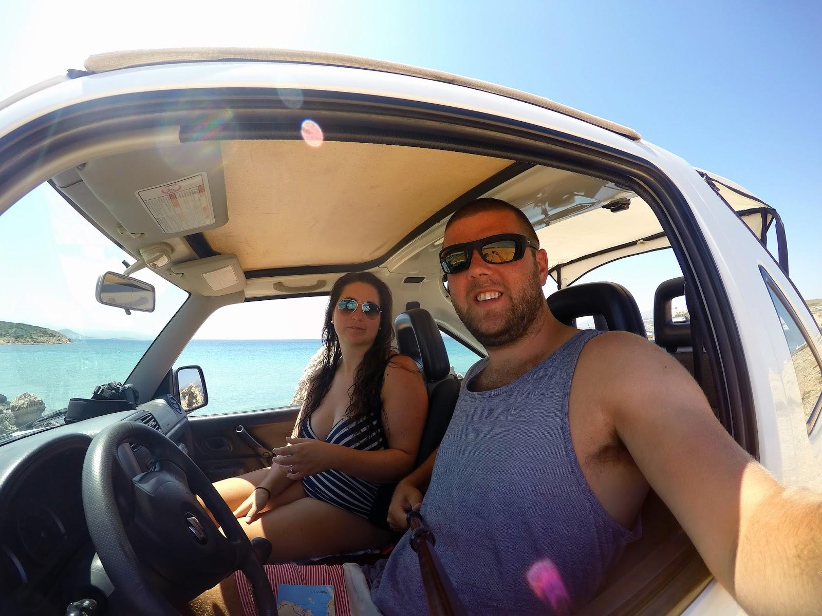 Roadtripping Paros Island