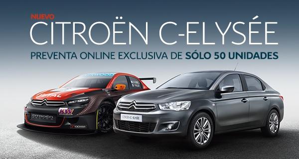 Citroën Argentina inició la preventa online del C-Elysée