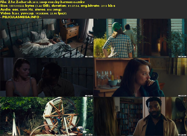 Descargar Z for Zachariah Subtitulado por MEGA.