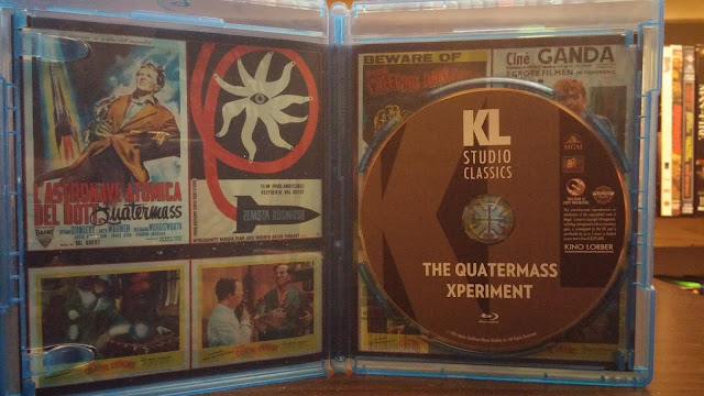 Disc Art for Kino Lorber Blu-ray of Quatermass Xperiment
