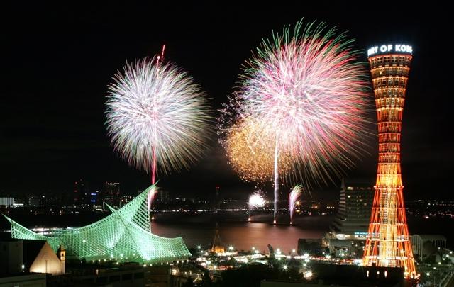 Image result for 神戶港海上花火大會