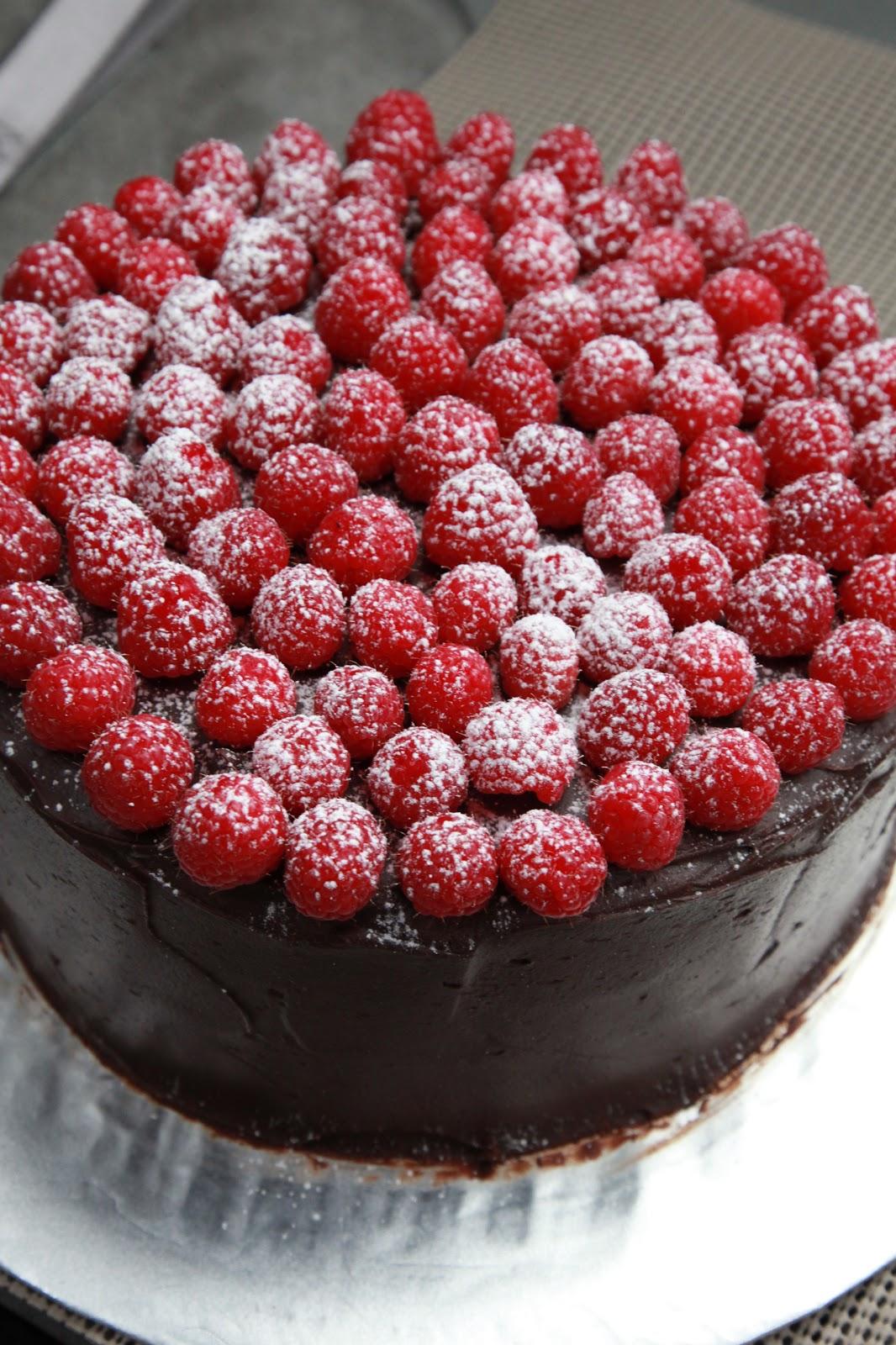 The Cake Box Girls Chocolate Raspberry Cake