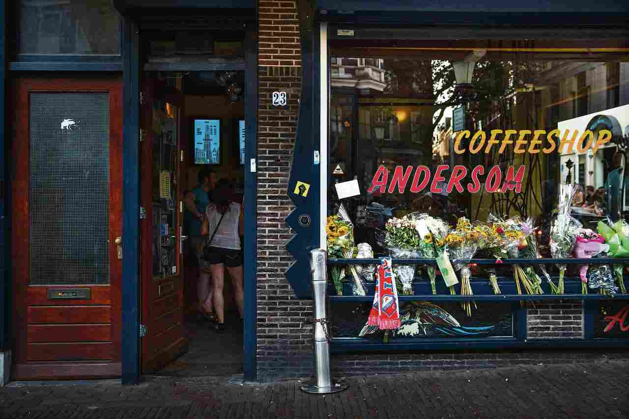 Coffee Shop Utrecht Hanfclub Coffeeshop Andersom Legal Cannabis Verkauf