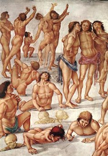 Luca Signorelli (1450-1523), la résurrection de la chair, Orvieto, Duomo, Cappella di San Brizio
