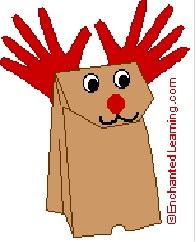Adornos y manualidades para navidad recursos para la for Manualidades renos navidenos