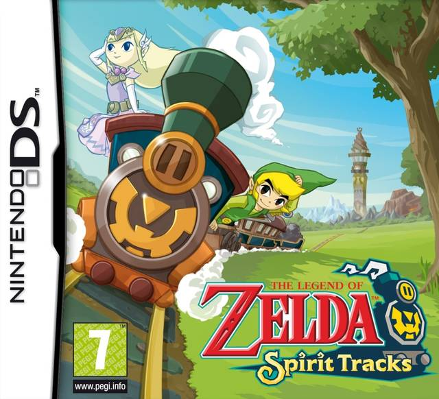 ROMs - The Legend of Zelda - Spirit Tracks (Português) - NDS Download
