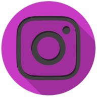 instagrom colorful button