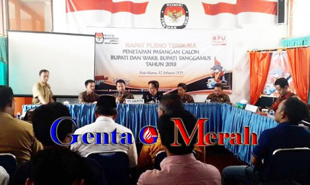 Pilkada Tanggamus,  Samsul Hadi-Nurul Bertarung Lawan  Dewi Handajani-Syafi'i