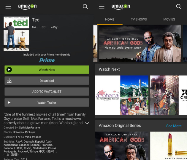 Tout savoir sur le service  VOD d'Amazon Video