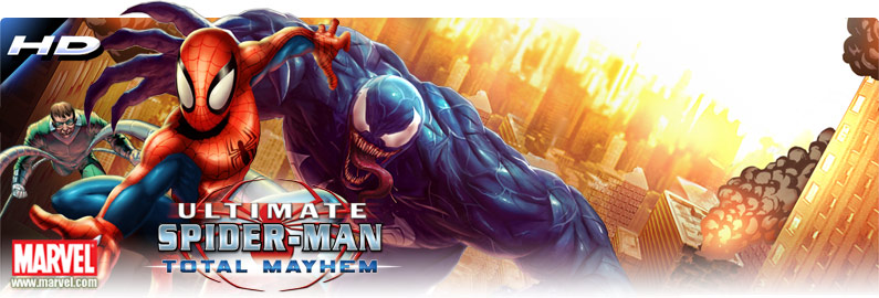 download spiderman total mayhem for samsung galaxy y