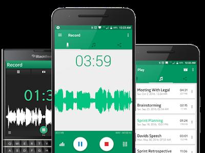 تطبيق Parrot Voice Recorder للأندرويد, برنامج تسجيل الصوت للاندرويد مخفي, برنامج تسجيل الصوت بصدى ومؤثرات للاندرويد, تحميل برنامج تسجيل الاغاني وتعديل الصوت