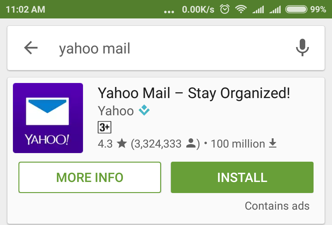 android 7 how to download email attachment from yahoo mail