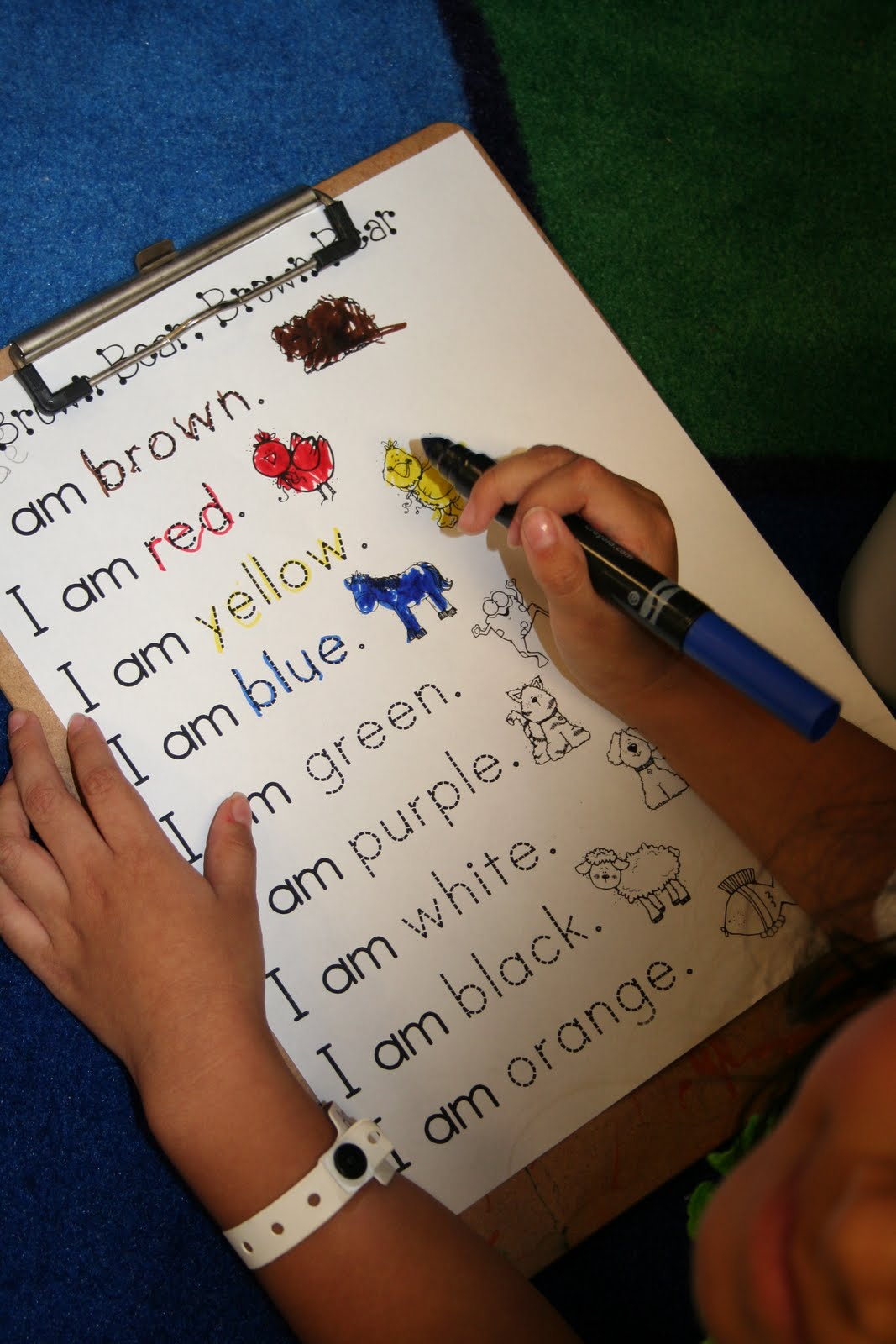 Mrs Lee S Kindergarten More Brown Bear Fun And Lots Of Pictures