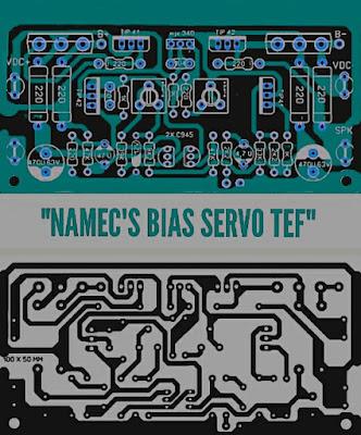 PCB Namec Bias Servo TEF