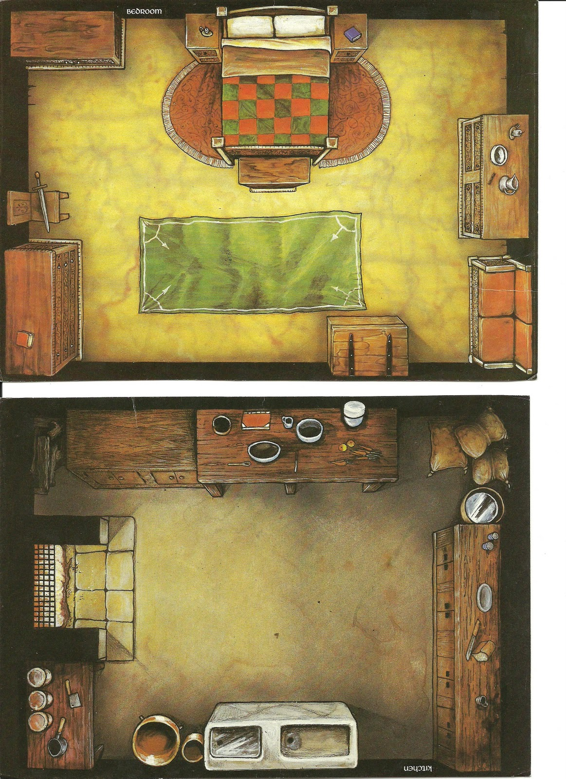 David S Rpg Dungeon Rooms
