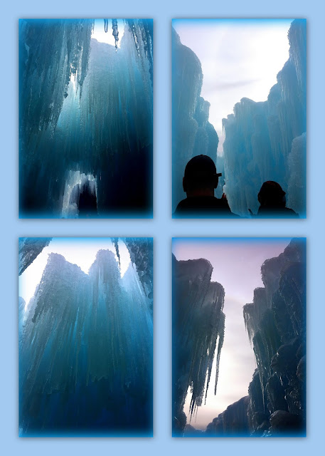 Ice Castles, Lincoln, New Hampshire, loon mountain