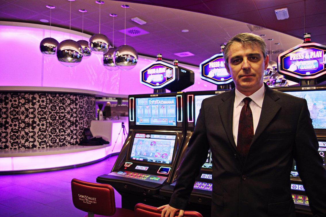 Casino saint vincent sala evolution