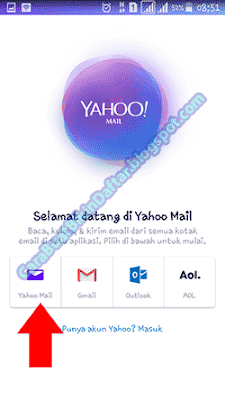 Yahoo Mail Daftar Baru Lewat Hp