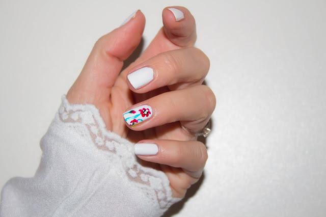 Des coquelicots sur mes ongles 💕