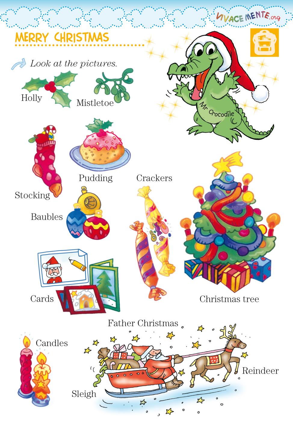 Come mantenere l'attenzione in classe? Vivacemente Il Giornalino Del Cuore E Della Mente Scheda Di Natale In Inglese Per Bambini