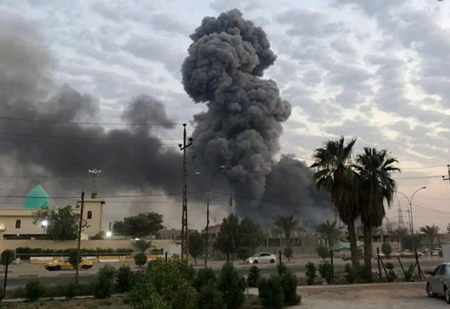 Israel bombs Iranian interests