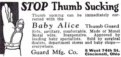 Baby Alice Thumb Guard