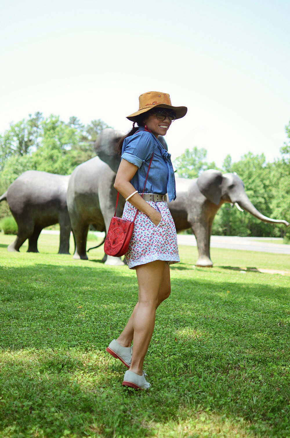 Safari outfit street style