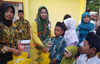 DPD Partai Golkar Bojonegoro Buka Bersama dan Santuni Anak Yatim