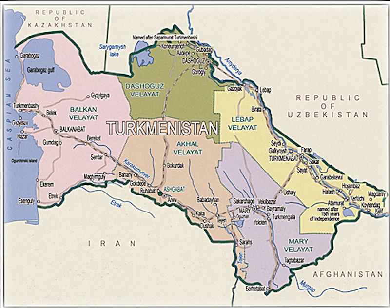 土庫曼斯坦簽證 / 過境簽證 / 伊朗辦理 / 被拒簽經驗分享