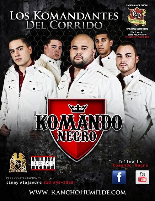 Komando Negro - En Vivo (2012)