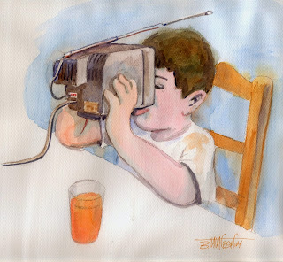Αποτέλεσμα εικόνας για θετικα και αρνητικα τησ τηλεορασησ